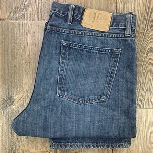 Gap 1969 Standard Fit Straight Leg Dark Wash Jeans